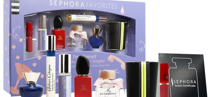 Sephora Favorites Treat Yourself Coffret Perfume Sampler Available Now + Coupons!