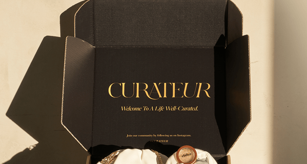 CURATEUR Holiday Coupon: Get $30 off First Box!
