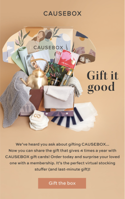 Causebox Gift Cards Available Now!