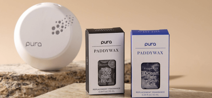 Pura Paddywax Fragrance Available Now + Coupon!