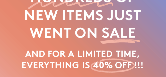 Birchbox Sale on Sale – 40% Off!