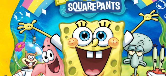 SpongeBob SquarePants T-Shirt Club Available Now!