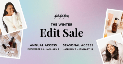 FabFitFun Winter 2020 Edit Sale: Get Up To 70% Off – All Member Access Starts Now!