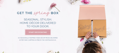 Decocrated Spring 2021 Box Available Now + Coupon!