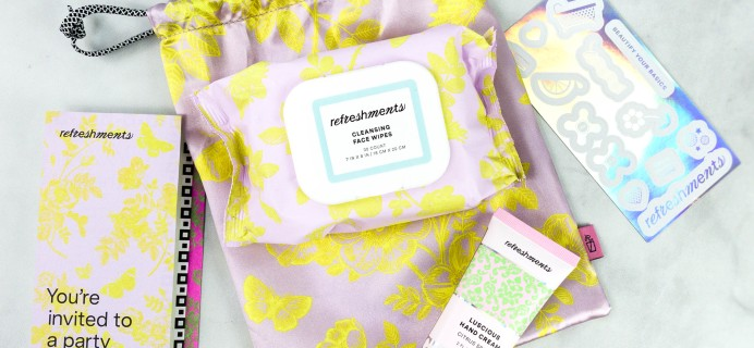 Ipsy Refreshments Review – December 2020