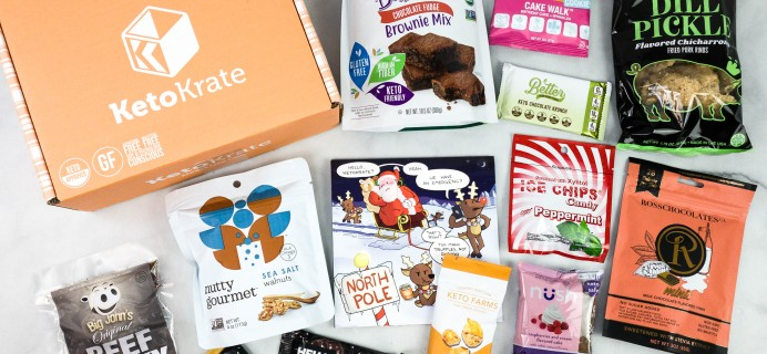 KetoKrate December 2020 Subscription Box Review + Coupon