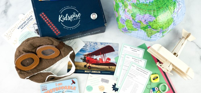 Kidspire Crate Subscription Box Review + Coupon – AMELIA EARHART