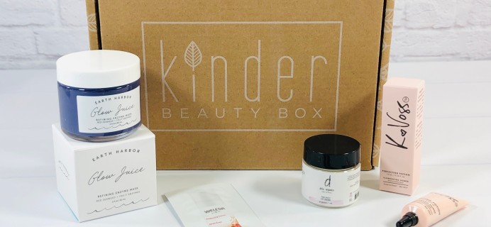 Kinder Beauty Box December 2020 Review + Coupon – Orchid