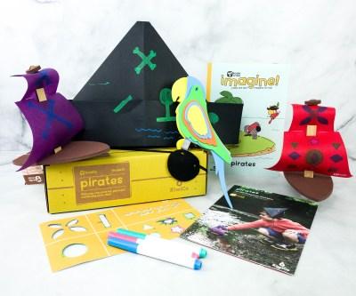 KiwiCo Koala Crate PIRATES Box Review & Coupon