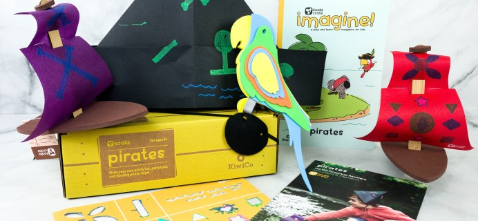 KiwiCo Koala Crate PIRATES Box Review & Coupon