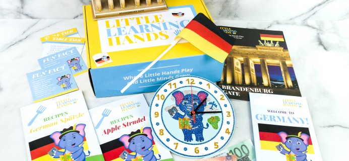 Little Learning Hands Review + Coupons – Germany