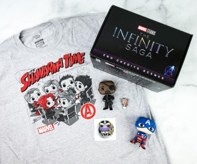 Marvel Collector Corps Review – THE INFINITY SAGA: END CREDITS – November 2020