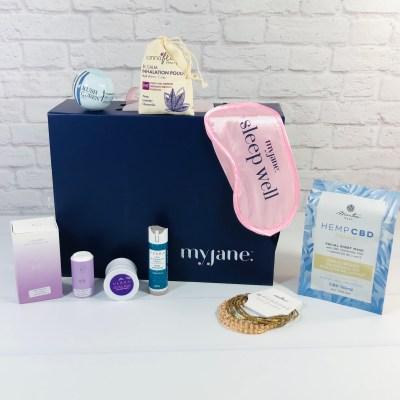 MyJane Dream Box Review – December 2020