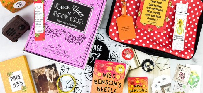 Once Upon a Book Club Review + Coupon –  November 2020 Adult Box
