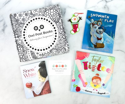 Owl Post Books Imagination Box December 2020 Subscription Box Review + Coupon