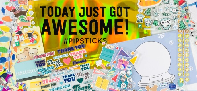 Pipsticks Kids Club Classic December 2020 Subscription Box Review + Coupon!