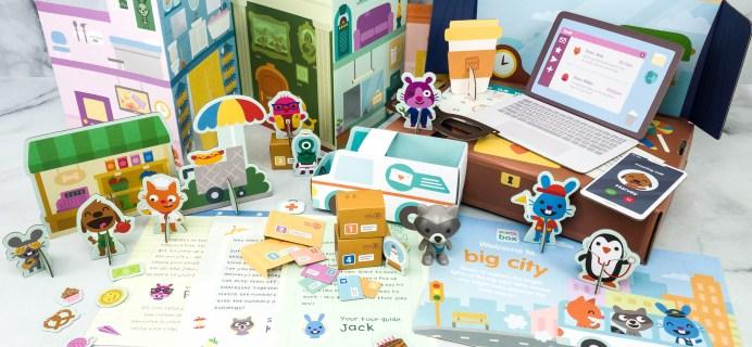 Sago Mini Box Review + Coupon – BIG CITY