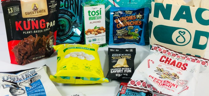SnackSack Subscription Box Review & Coupon – December 2020 Classic