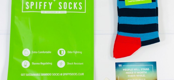 Spiffy Socks Review + Coupon – Women's Socks Subscription – December 2020