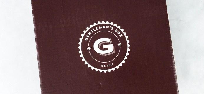 Gentleman's Box February  2021 Spoiler + Coupon!