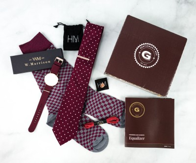 The Gentleman's Box December 2020 Subscription Box Review + Coupon