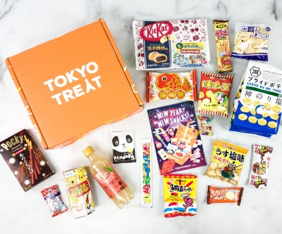Tokyo Treat January 2021 Subscription Box Review + Coupon