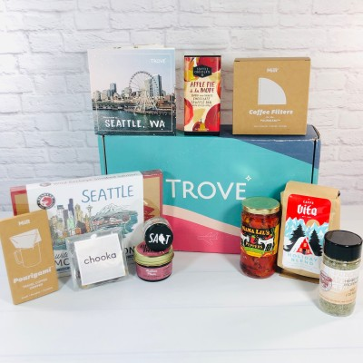 Trove Holiday 2020 Seattle Gift Box Review + Coupon