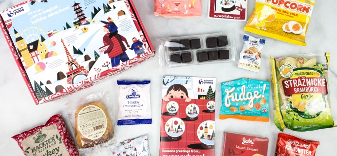 Universal Yums Subscription Box Review + Coupon – HOLIDAY BOX