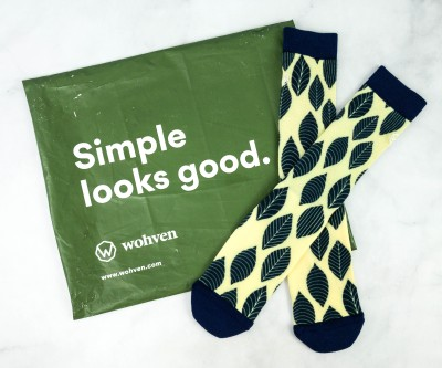 Wohven Socks Subscription November 2020 Review + Coupon!