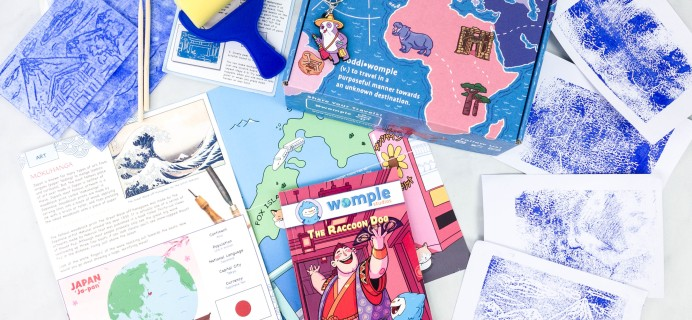 WompleMail Kids Subscription Box Review + Coupon – JAPAN