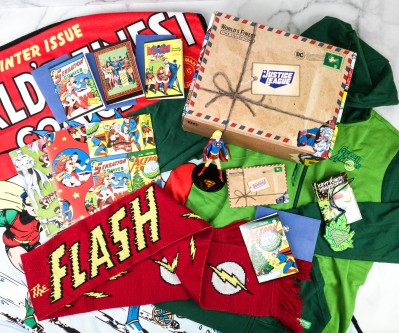 DC Comics World's Finest: The Collection Winter 2020 Box Review – HOLIDAY HEROES