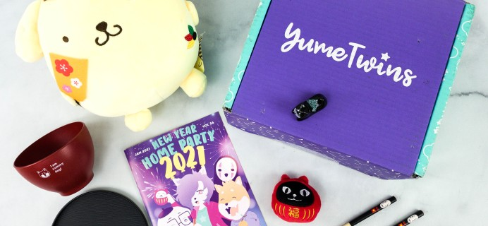 YumeTwins January 2021 Subscription Box Review + Coupon