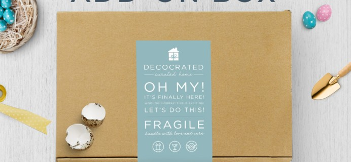 Decocrated Easter Box Available For Preorder Now!