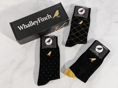 Whalley Finch Sock Subscription Box – Goldblack Collection