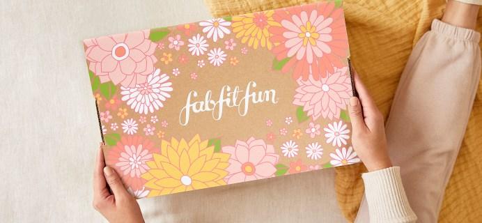 FabFitFun Spring 2021 Full Schedule!