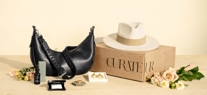 CURATEUR Coupon: Get $25 off First Box!