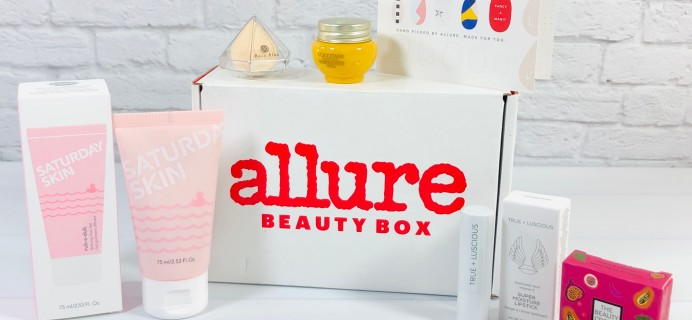 Allure Beauty Box January 2021 Review & Coupon
