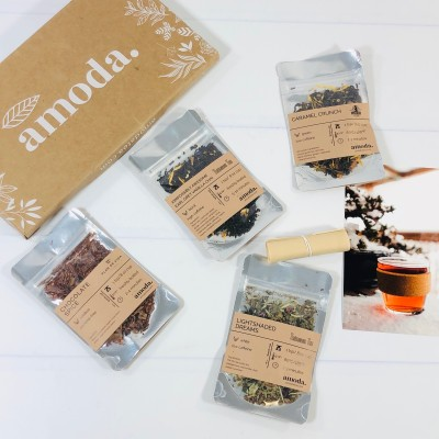 Amoda Tea Subscription Review + Coupon – January 2021