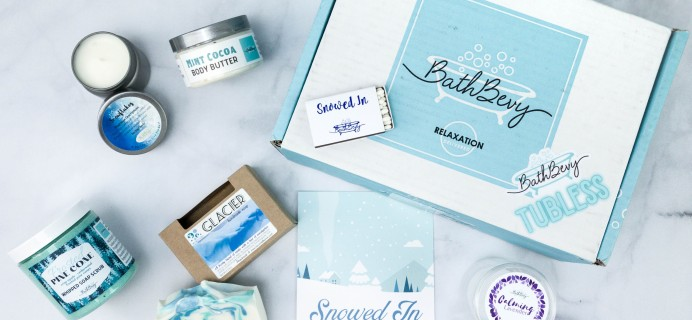 Bath Bevy TUBLESS BOX Review + Coupon – January 2021