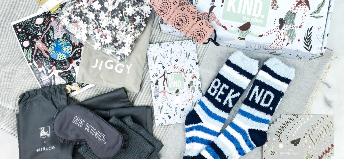 BE KIND by Ellen Winter 2020 Subscription Box Review