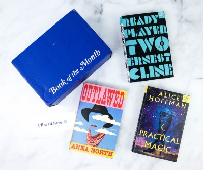 Book of the Month January 2021 Subscription Box Review + Coupon