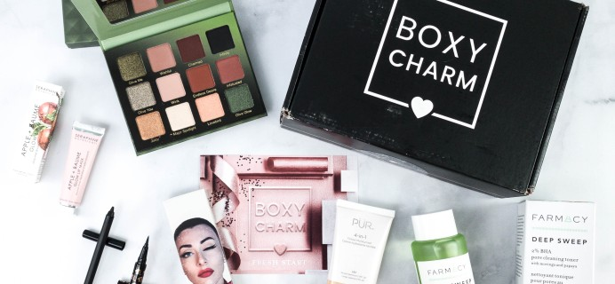 BOXYCHARM January 2021 Review