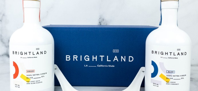 Brightland Duo Subscription Review – ALIVE & AWAKE Olive Oil