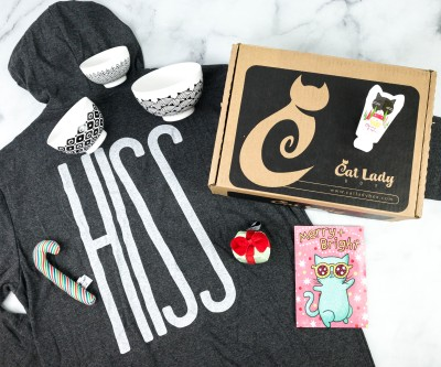 Cat Lady Box December 2020 Subscription Box Review – MEOWY HOLIDAYS