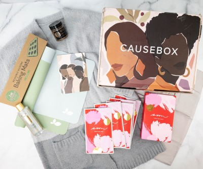 CAUSEBOX Winter 2020 Subscription Box Review + Coupon