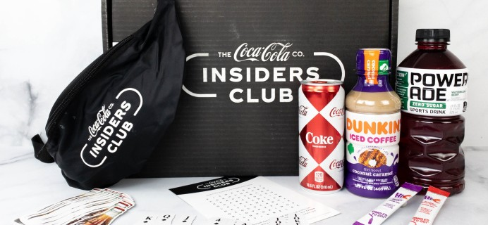 Coca-Cola Insiders Club Review – January 2021