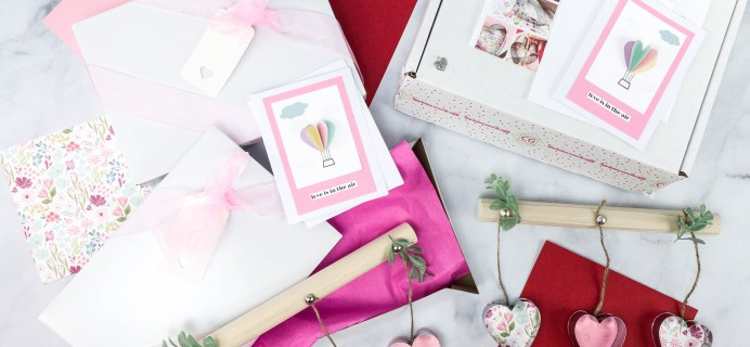 Confetti Grace January-February 2021 Craft Subscription Box Review