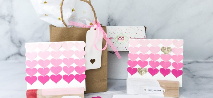 Lil Grace Box by Confetti Grace February 2021 Craft Subscription Box Review