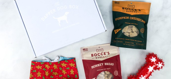 The Dapper Dog Box Review + Coupon – December 2020
