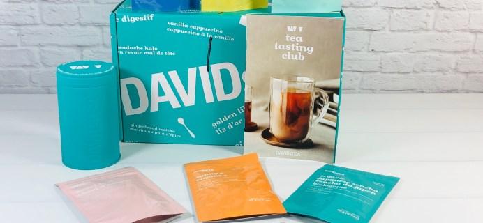 DAVIDsTEA Tasting Club Review – Spring 2021